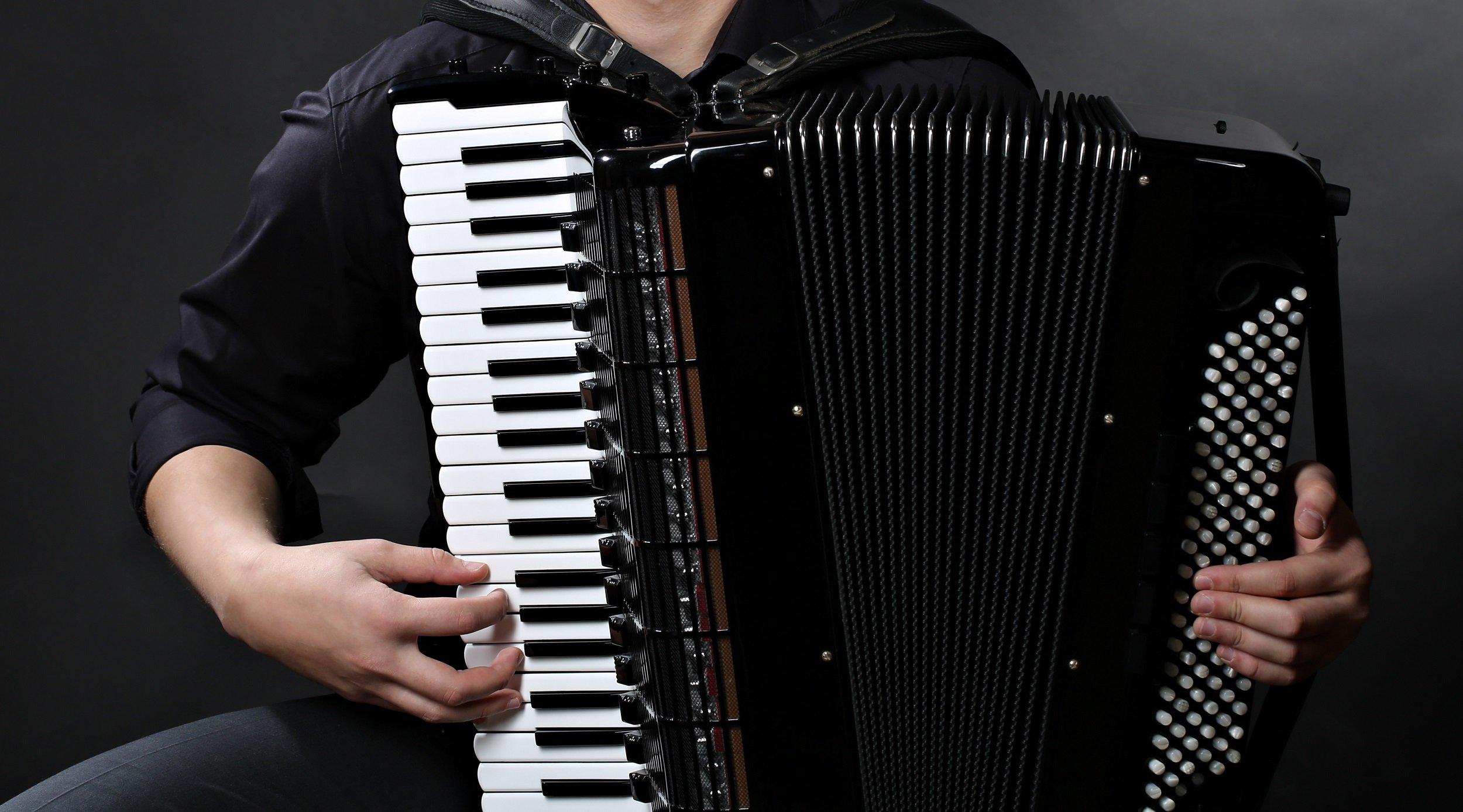 Миле Ђурђевић, хармоника