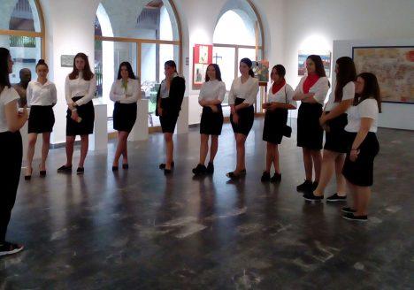 Пракса ученика у Музеју у Смедереву