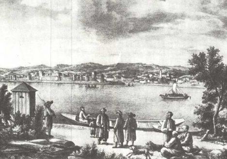 Smederevo - pogled sa Smederevske ade