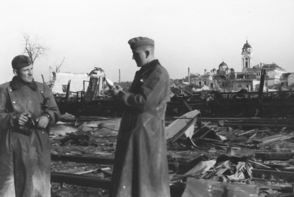 Немачки војници у Смедереву 1941. године